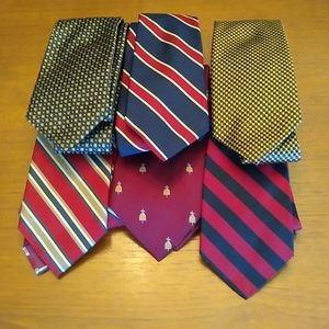 Other - Lot of six silk ties from J.PRESS